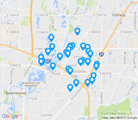 map of 46250 apartments for rent