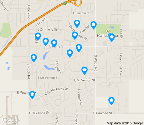 map of Chisholm Creek apartments for rent