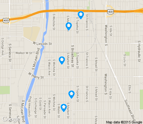 map of South Central Improvemen apartments for rent