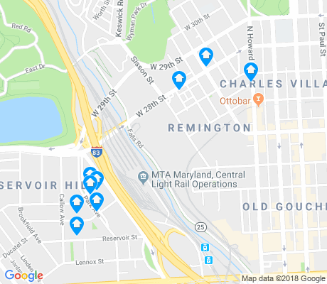 map of Remington apartments for rent