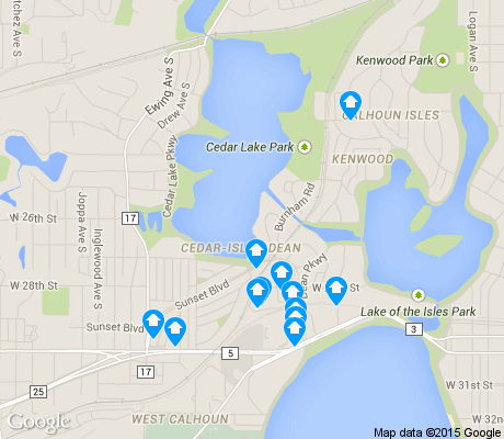 map of Cedar-Isles-Dean apartments for rent