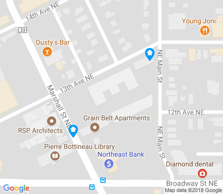 map of Sheridan apartments for rent