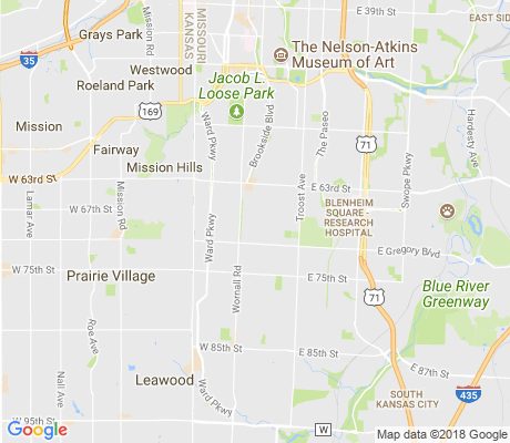 map of Armour Hills apartments for rent