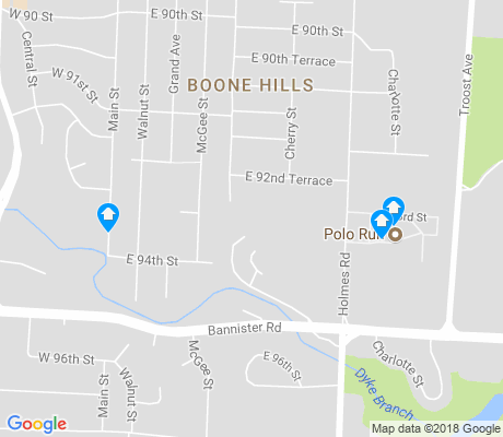 map of Bonne Hills apartments for rent