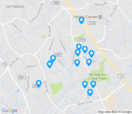 map of Stonehaven apartments for rent