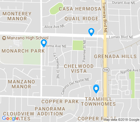 map of Chelwood Vista apartments for rent