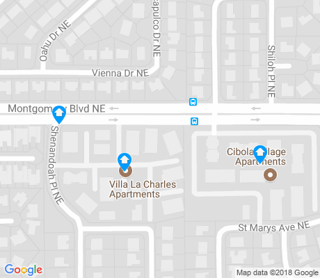map of Eldorado Heights apartments for rent