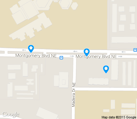 map of Montgomery Park apartments for rent