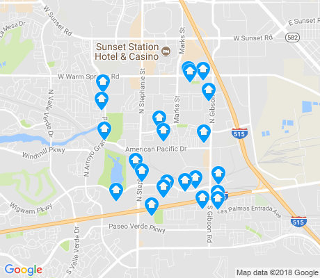 map of Gibson Springs apartments for rent