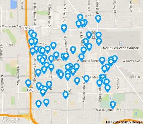 map of Michael Way apartments for rent