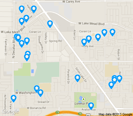 map of Twin Lakes apartments for rent