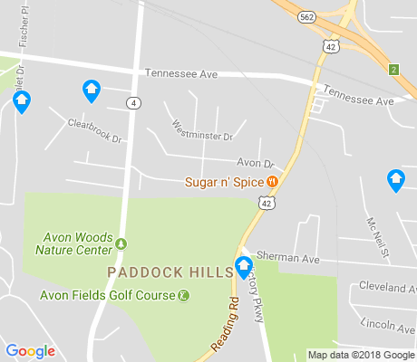 map of Paddock Hills apartments for rent