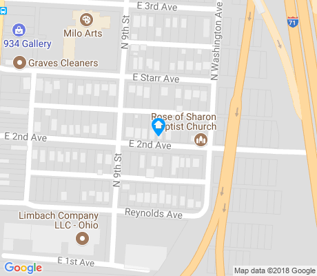 map of Milo-Grogan apartments for rent