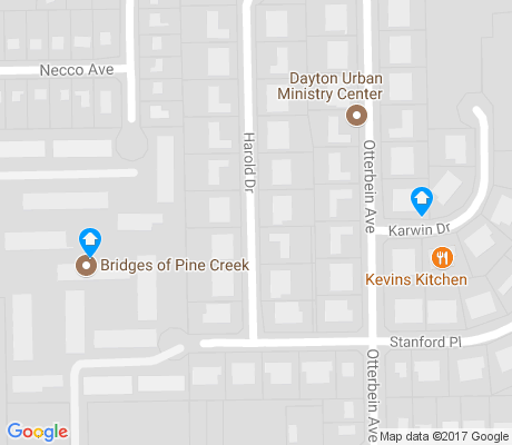 map of Wesleyan Hill apartments for rent