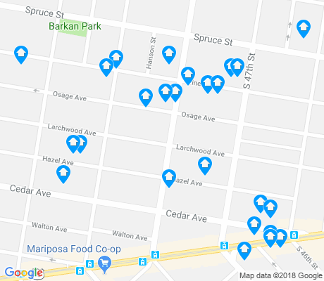 map of Cedar Park apartments for rent