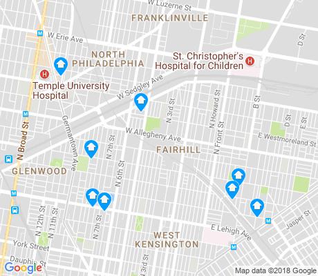 Map Of Fishtown Philadelphia Images
