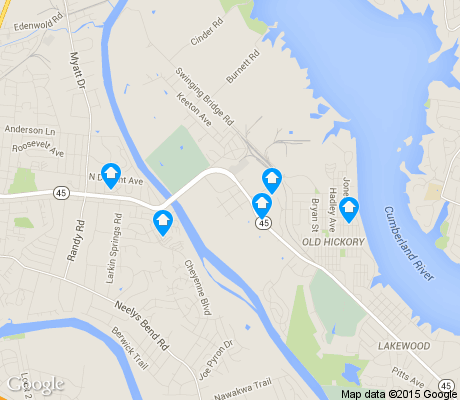 map of Rayon City Beautification Association apartments for rent