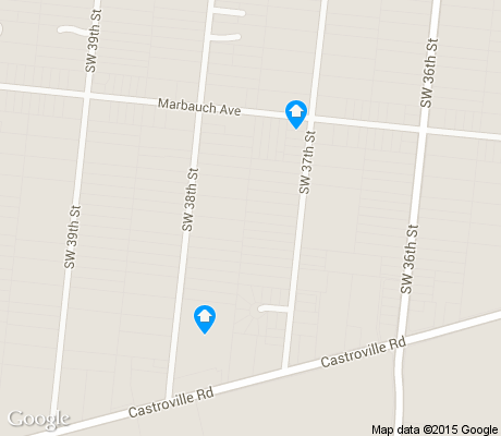 map of Community Workers Council/Los Jardines apartments for rent