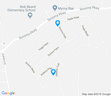 map of Sonoma Ranch apartments for rent