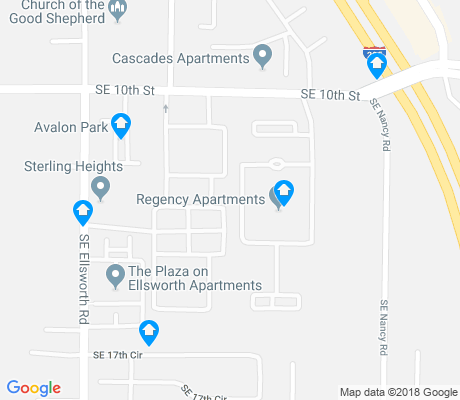 map of Ellsworth Springs apartments for rent