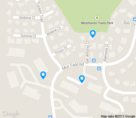 map of Westhaven Trails apartments for rent