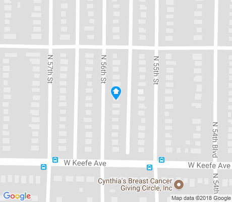 map of Sunset Heights apartments for rent