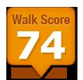 Walk Score of 21 Washington Street Markham ON Canada