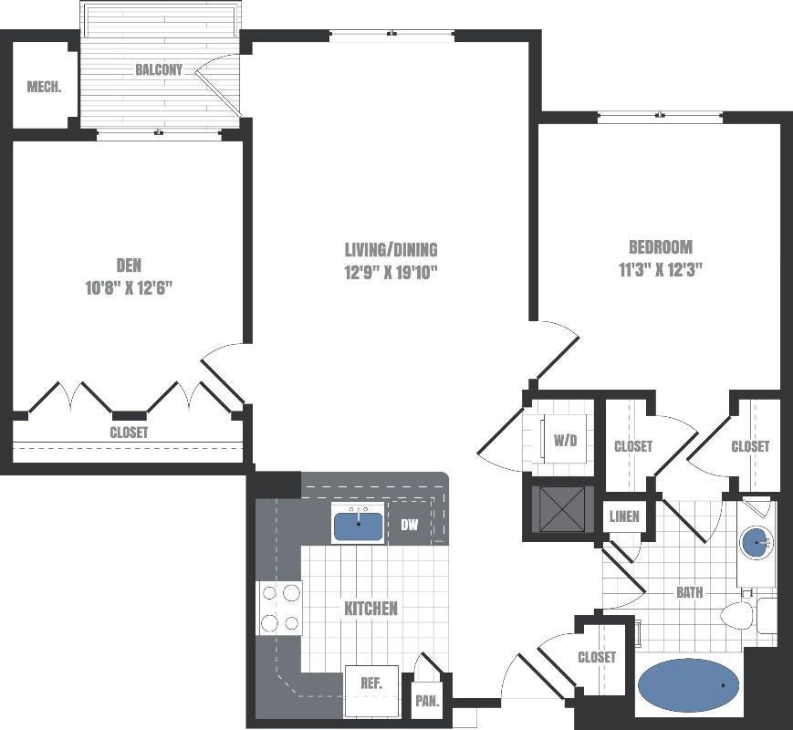 St Anthony Mills Apartments: Eastside Flats, Malvern PA