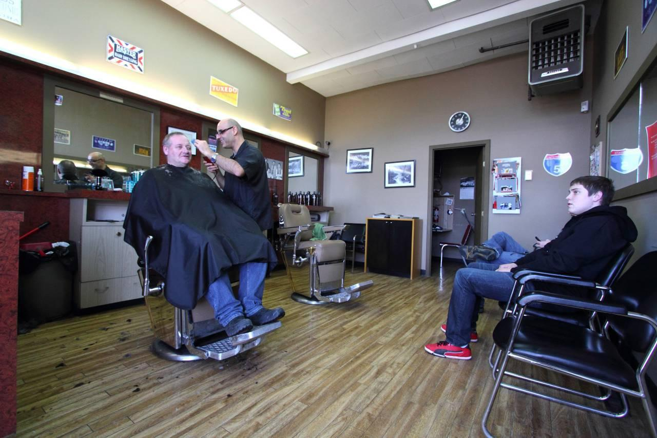 Barber Shop Closest To Me : Photo of Mayland Heights Barber Shop in Mayland Heights, Calgary
