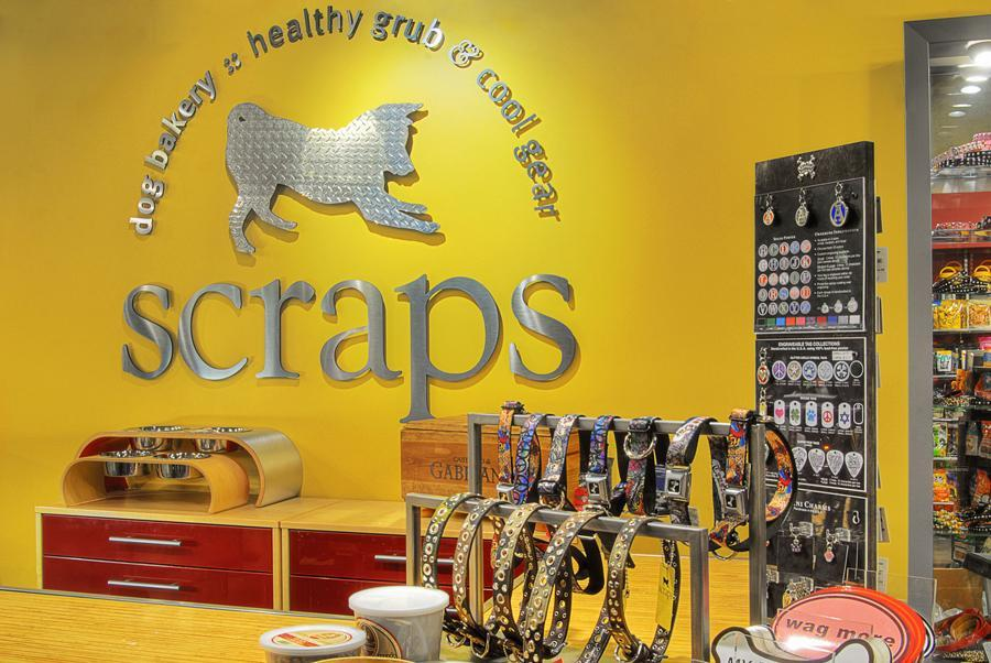 Scraps dog bakery