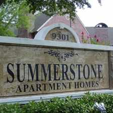 Rental info for Summerstone Apartments