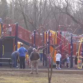 Photo of Bethesda parkwood playground