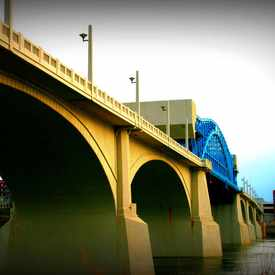 Photo of John Ross Bridge