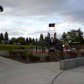 Photo of Westwood Park (former site of Denny Middle School) in High Point