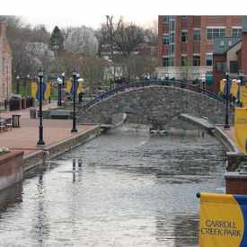Photo of Carroll Creek Linear Park