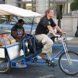 Photo of McFawn's Pedicab