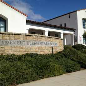 Photo of Roosevelt Elementary School in Lower Riviera
