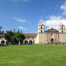 Photo of Old Mission Santa Barbara in Upper East