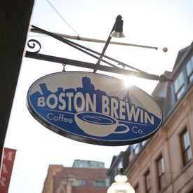 Photo of Boston Brewin Coffee in Downtown Crossing