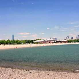 Photo of Carson Beach in South Boston
