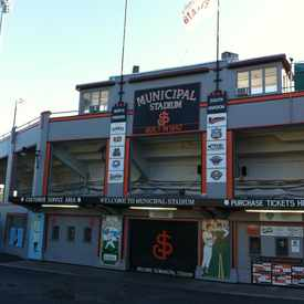 Photo of Municipal Stadium in Fairgrounds