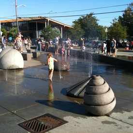 Photo of Ballard Commons Park in Ballard