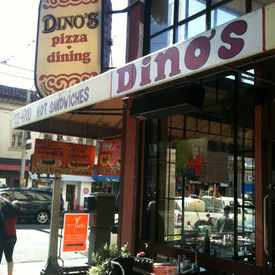 Photo of Dino's Pizza in Pacific Heights