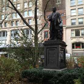Photo of Chester Alan Arthur Statue in Flatiron District