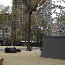 Photo of Modern Art Piece And Loungeing Space  in Flatiron District