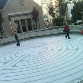Photo of The Labyrinth At Grace Cathedral  in Nob Hill