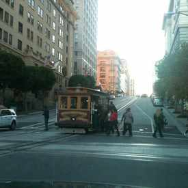 Photo of Cable Car in Nob Hill