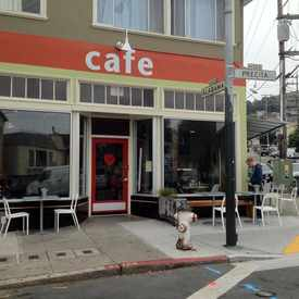 Photo of Precita Park Cafe in Bernal Heights