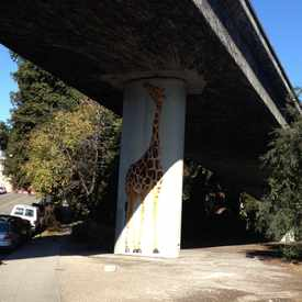 Photo of Giraffes, Public Art in Grand Lake