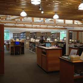 Photo of Elisabeth C. Miller Library in University District